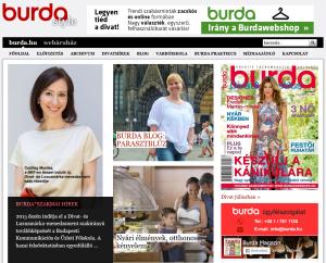 Média megjelenés - Burda.hu